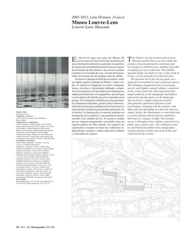 AV Monografías 171_172 SANAA Sejima & Nishizawa - Preview 13