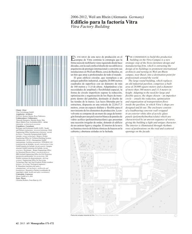 AV Monografías 171_172 SANAA Sejima & Nishizawa - Preview 15