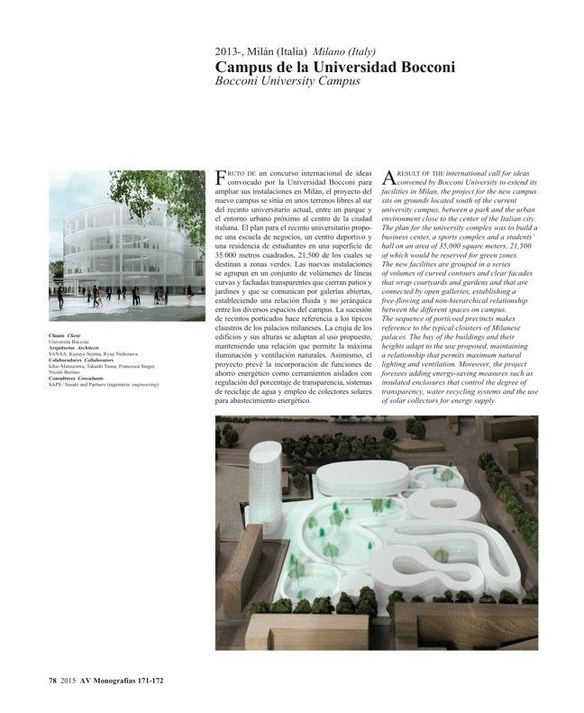 AV Monografías 171_172 SANAA Sejima & Nishizawa - Preview 19