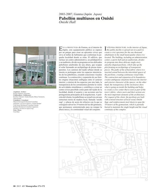AV Monografías 171_172 SANAA Sejima & Nishizawa - Preview 23