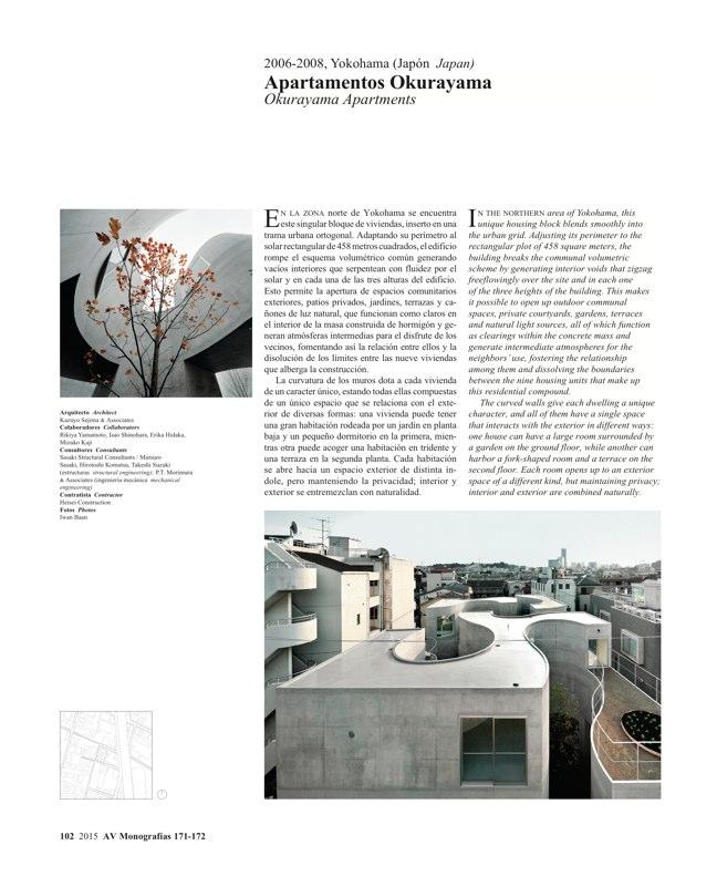 AV Monografías 171_172 SANAA Sejima & Nishizawa - Preview 27