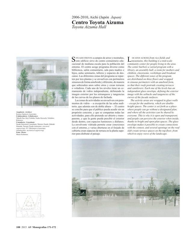 AV Monografías 171_172 SANAA Sejima & Nishizawa - Preview 29