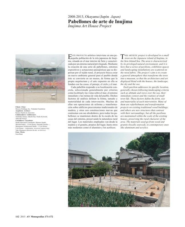 AV Monografías 171_172 SANAA Sejima & Nishizawa - Preview 31