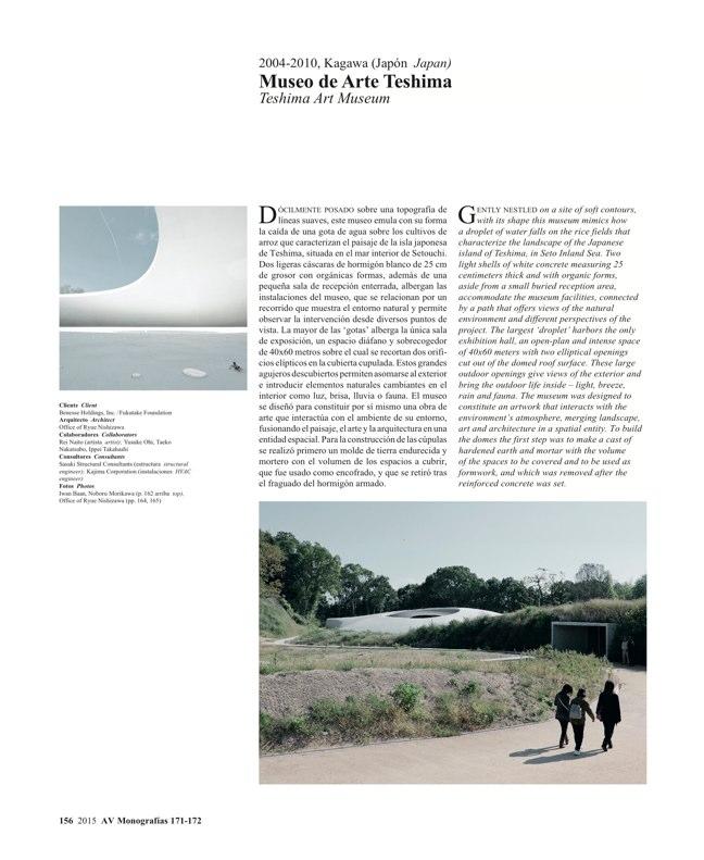 AV Monografías 171_172 SANAA Sejima & Nishizawa - Preview 43
