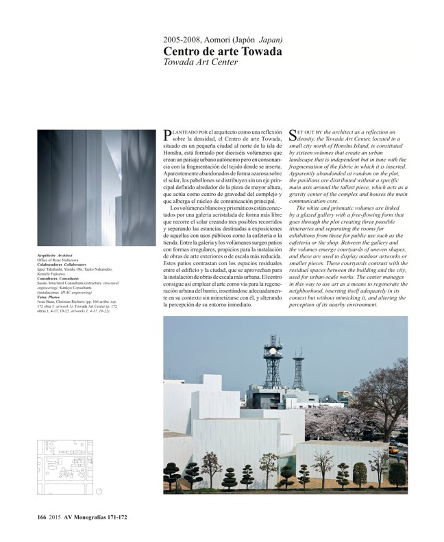 AV Monografías 171_172 SANAA Sejima & Nishizawa - Preview 45