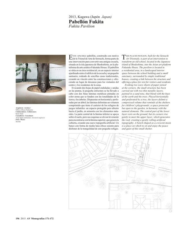 AV Monografías 171_172 SANAA Sejima & Nishizawa - Preview 53