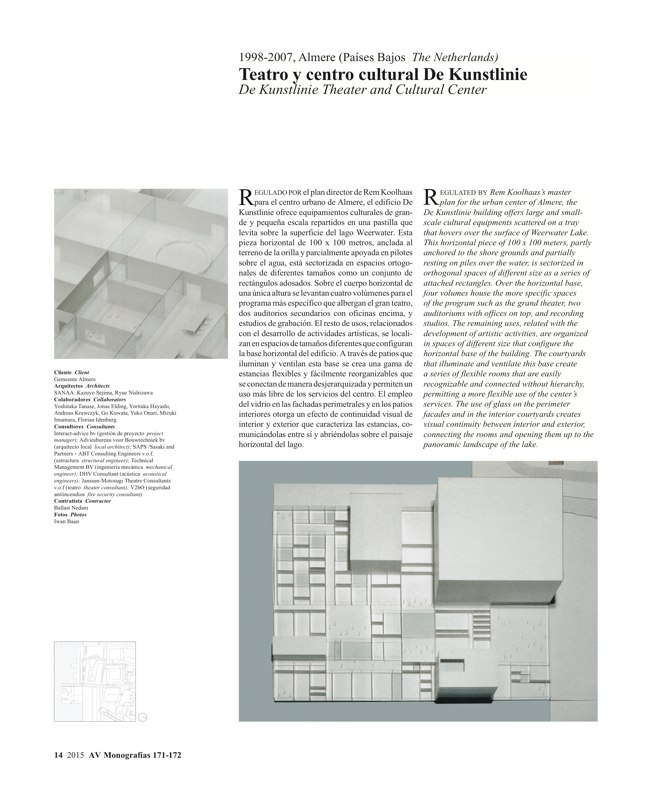 AV Monografías 171_172 SANAA Sejima & Nishizawa - Preview 5