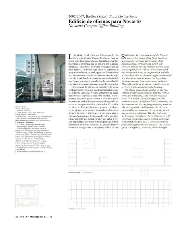 AV Monografías 171_172 SANAA Sejima & Nishizawa - Preview 7