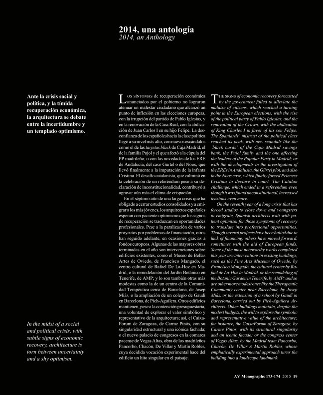 AV Monografias 173-174 ESPAÑA 2015 SPAIN YEARBOOK - Preview 7