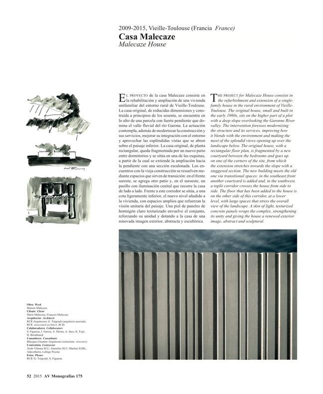 AV Monografias 175 RCR Arquitectes - Preview 13