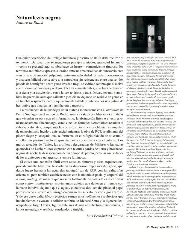 AV Monografias 175 RCR Arquitectes - Preview 2