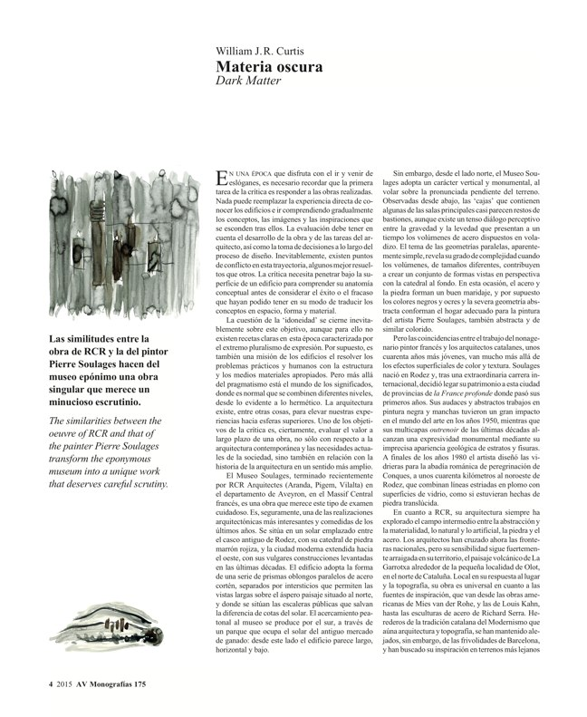 AV Monografias 175 RCR Arquitectes - Preview 3