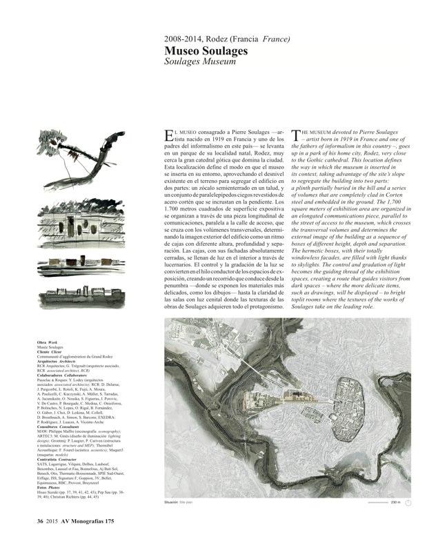 AV Monografias 175 RCR Arquitectes - Preview 9
