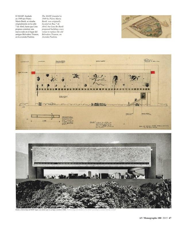 AV Monografias 180 LINA BO BARDI - Preview 11
