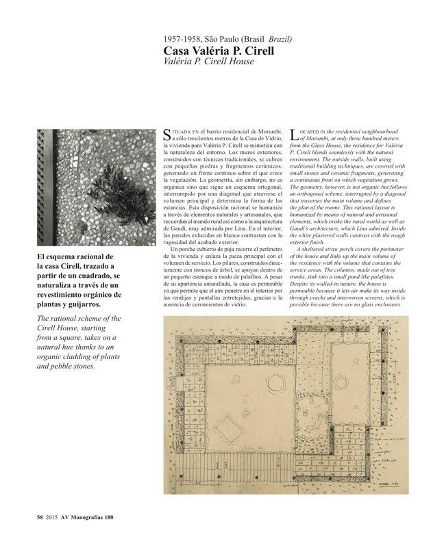 AV Monografias 180 LINA BO BARDI - Preview 12
