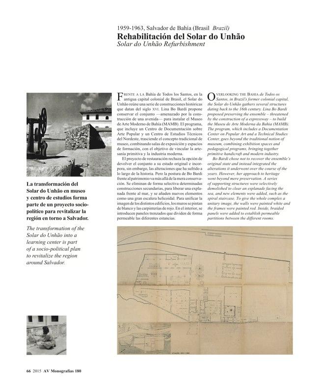 AV Monografias 180 LINA BO BARDI - Preview 13