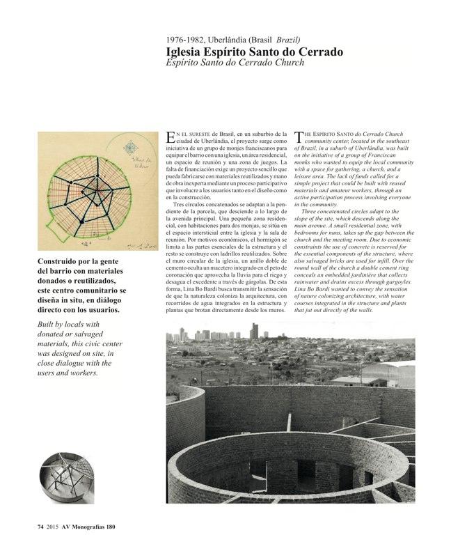 AV Monografias 180 LINA BO BARDI - Preview 14