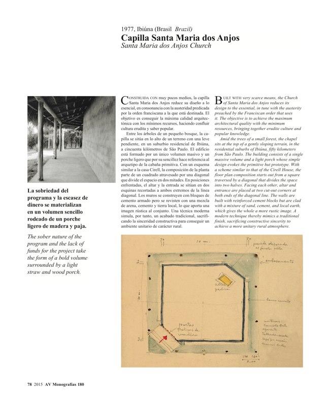 AV Monografias 180 LINA BO BARDI - Preview 15
