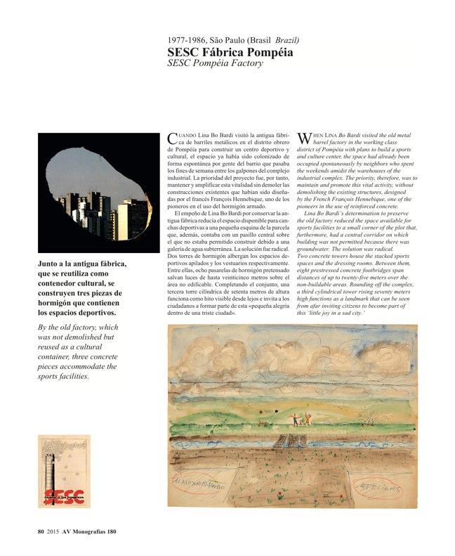 AV Monografias 180 LINA BO BARDI - Preview 16