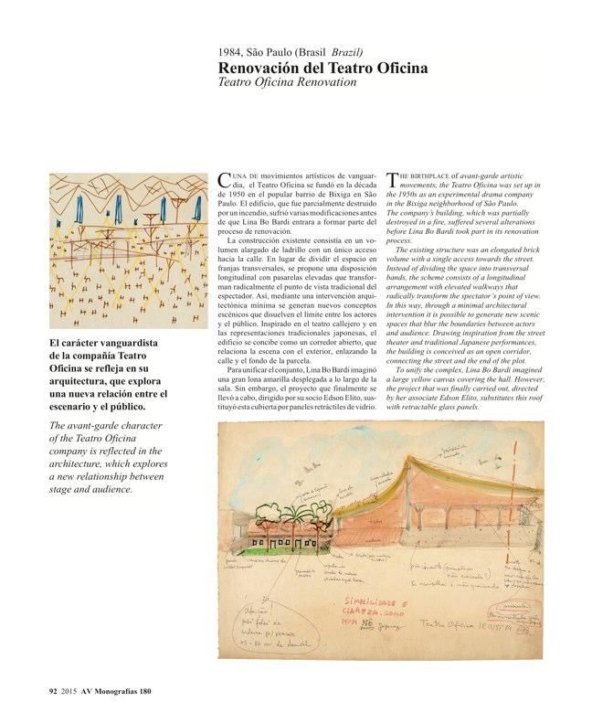 AV Monografias 180 LINA BO BARDI - Preview 18