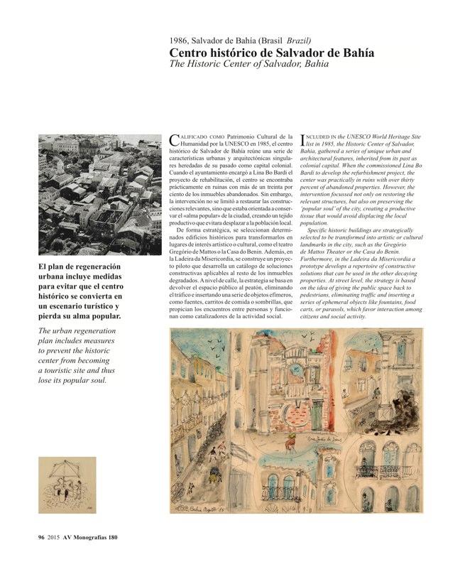 AV Monografias 180 LINA BO BARDI - Preview 19