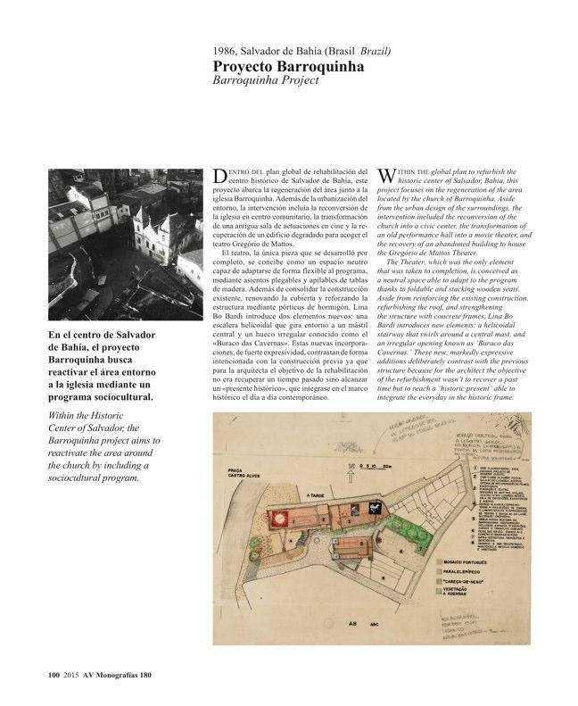 AV Monografias 180 LINA BO BARDI - Preview 20