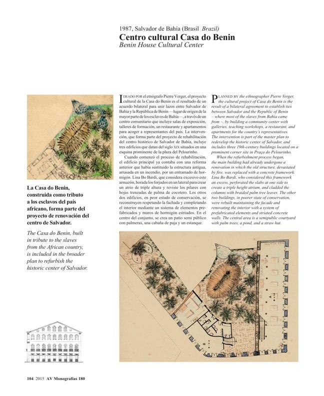 AV Monografias 180 LINA BO BARDI - Preview 21