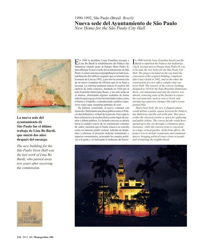 AV Monografias 180 LINA BO BARDI - Preview 24