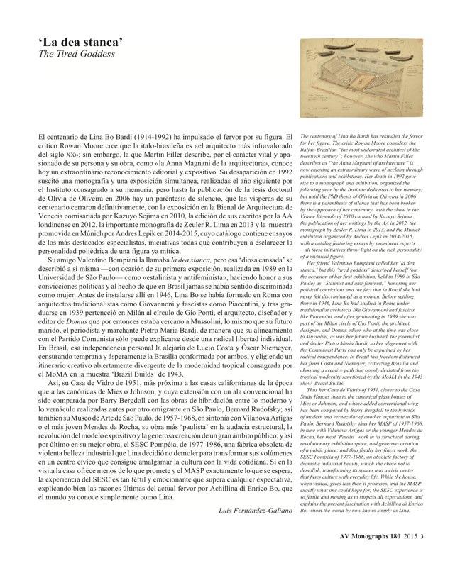 AV Monografias 180 LINA BO BARDI - Preview 2