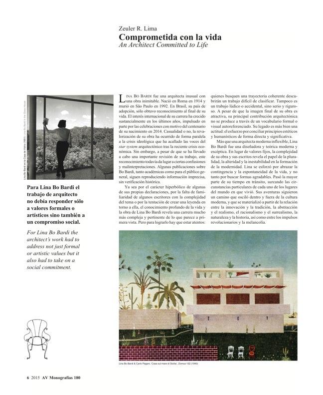 AV Monografias 180 LINA BO BARDI - Preview 4