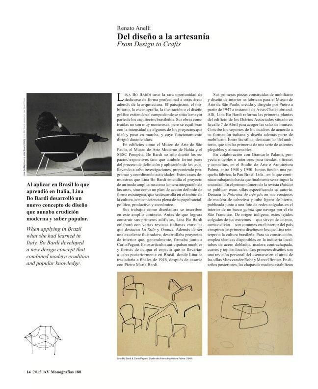 AV Monografias 180 LINA BO BARDI - Preview 5