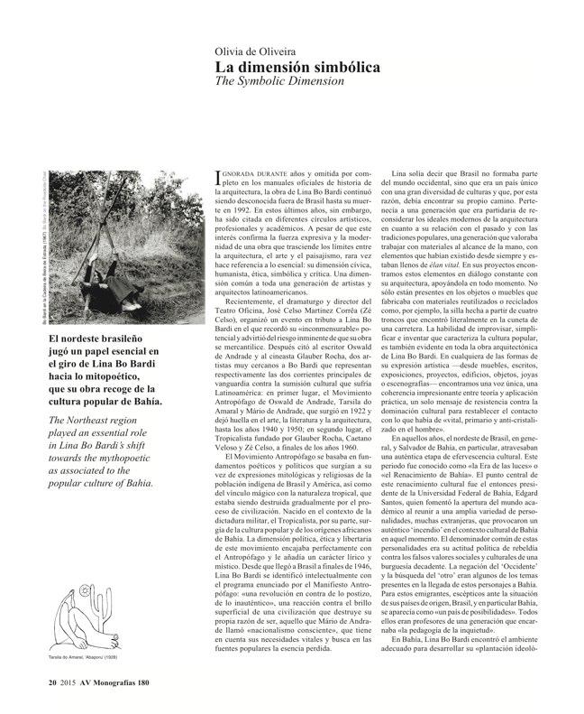AV Monografias 180 LINA BO BARDI - Preview 6