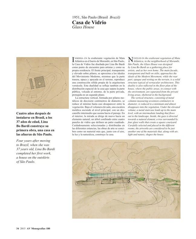 AV Monografias 180 LINA BO BARDI - Preview 8