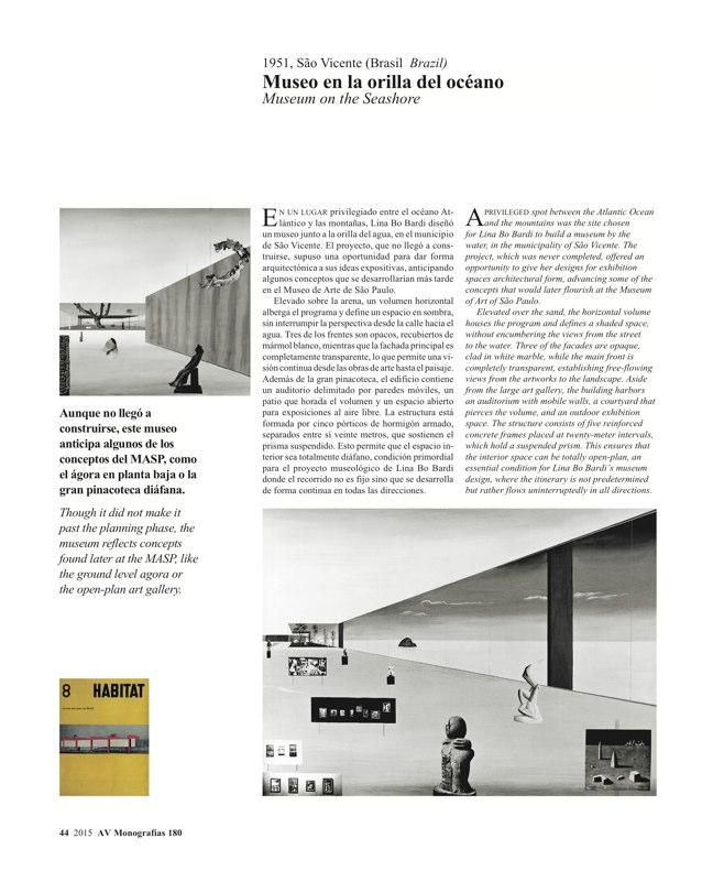 AV Monografias 180 LINA BO BARDI - Preview 9