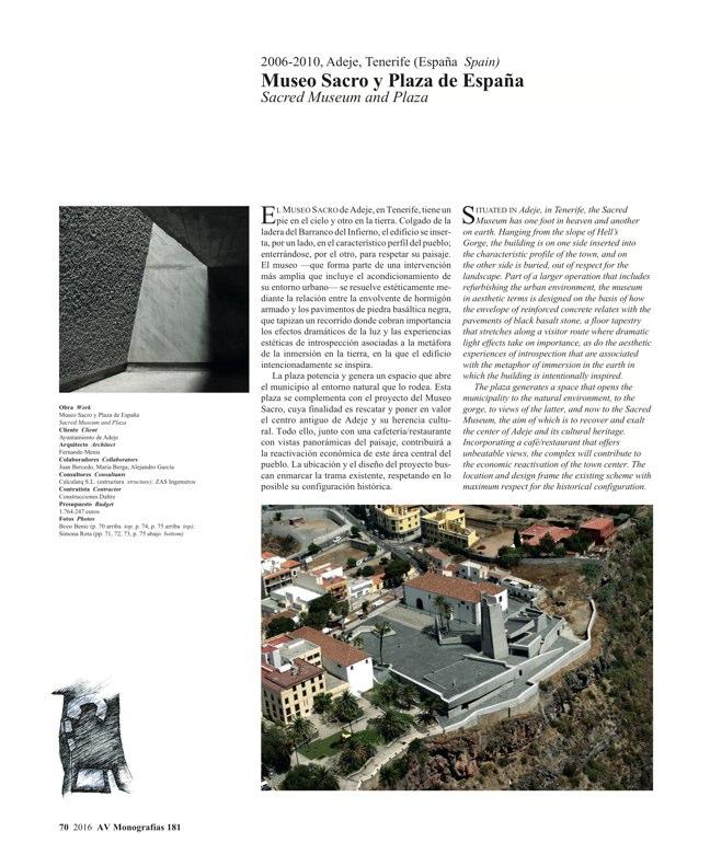 AV Monografias 181 FERNANDO MENIS - Preview 20