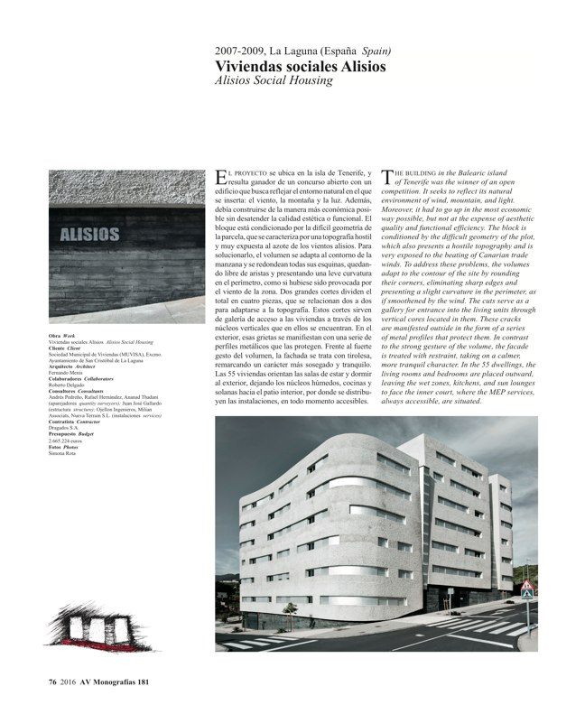 AV Monografias 181 FERNANDO MENIS - Preview 21