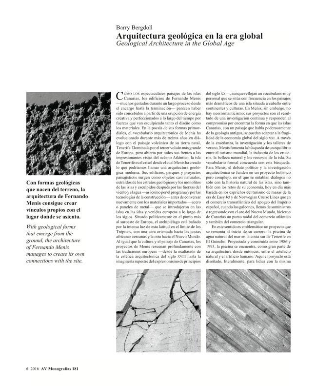 AV Monografias 181 FERNANDO MENIS - Preview 3