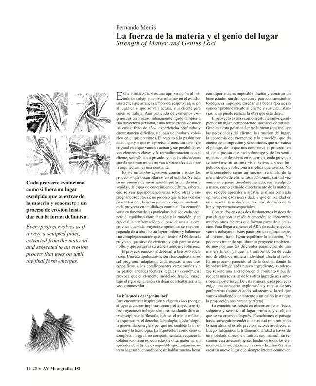AV Monografias 181 FERNANDO MENIS - Preview 4