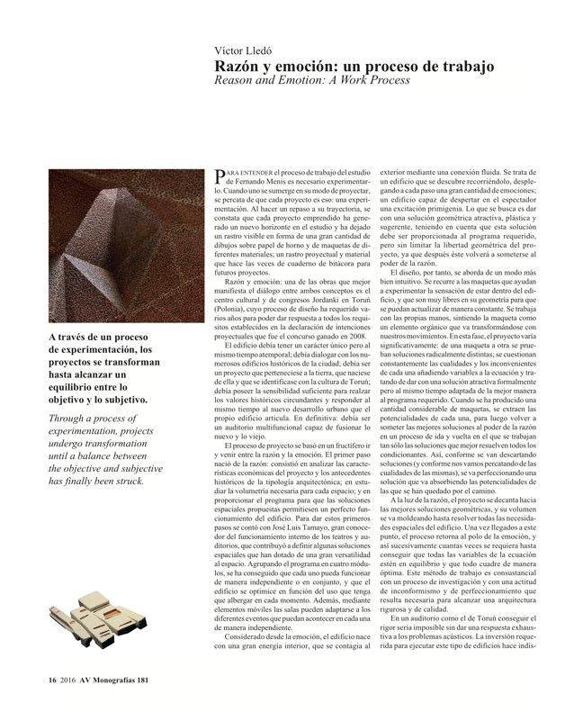 AV Monografias 181 FERNANDO MENIS - Preview 5