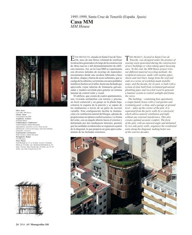 AV Monografias 181 FERNANDO MENIS - Preview 6