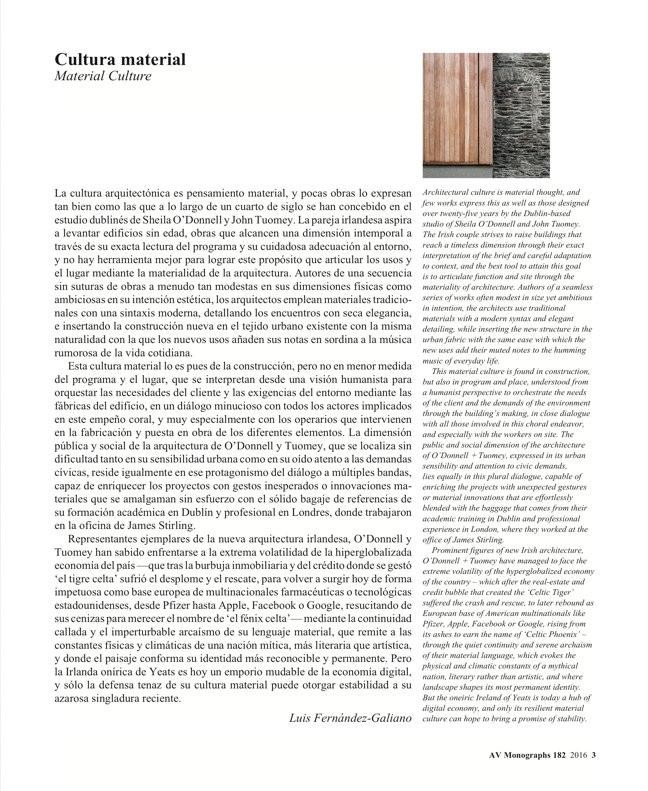 AV Monografías 182 O'DONNELL+TUOMEY - Preview 3