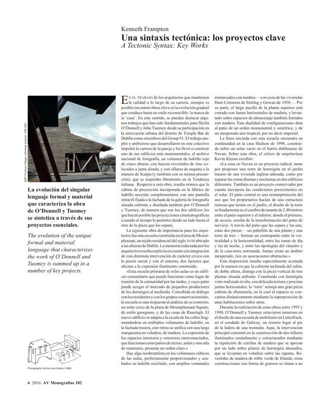 AV Monografías 182 O'DONNELL+TUOMEY - Preview 4