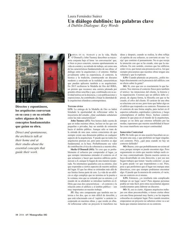 AV Monografías 182 O'DONNELL+TUOMEY - Preview 5