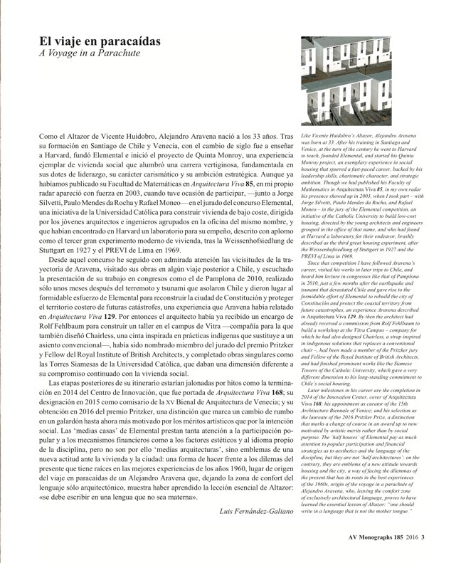 AV Monografias 185 Alejandro Aravena - Preview 3