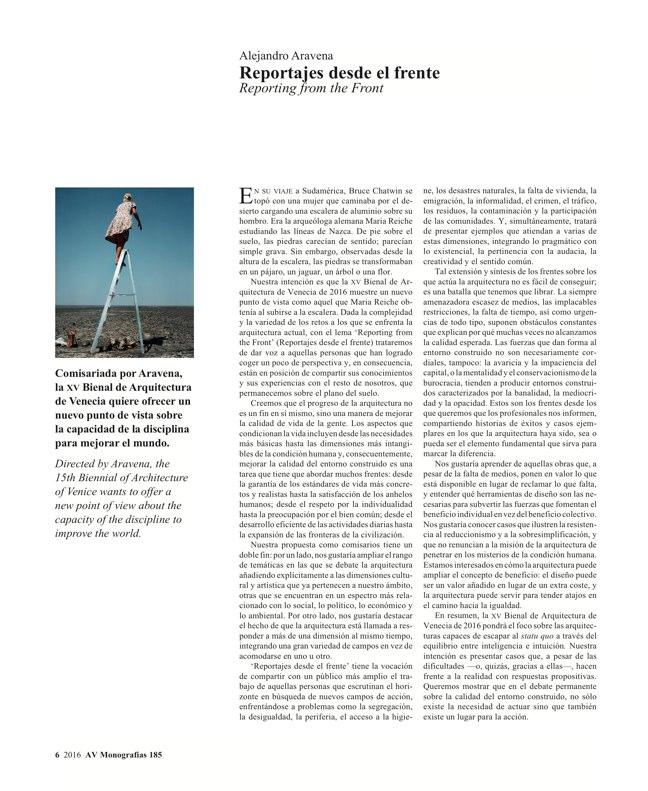 AV Monografias 185 Alejandro Aravena - Preview 4