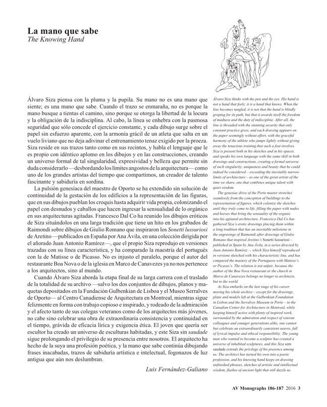 AV Monografias 186-187 ALVARO SIZA - Preview 2