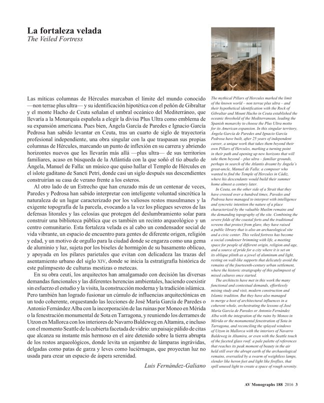 AV Monografías 188 PAREDES PEDROSA - Preview 3