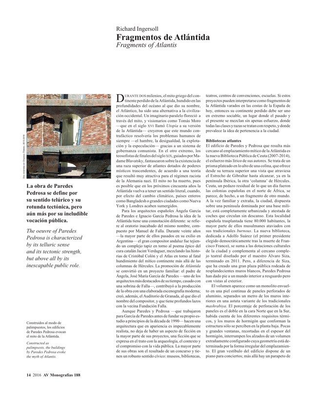 AV Monografías 188 PAREDES PEDROSA - Preview 5