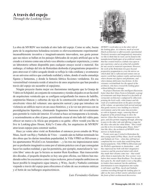 AV Monografias 189-190 MVRDV. Dream Works - Preview 4
