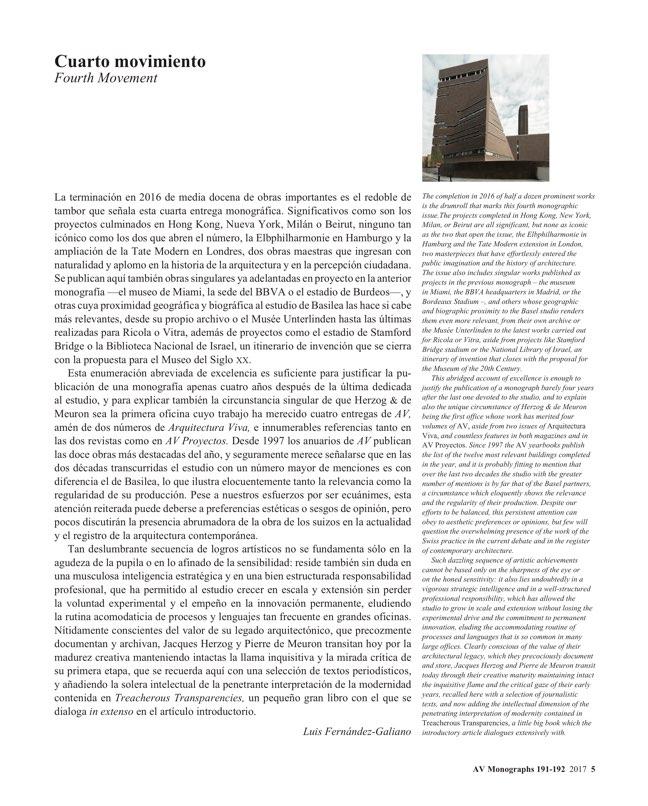 AV Monografias 191_192 HERZOG & DE MEURON - Preview 4